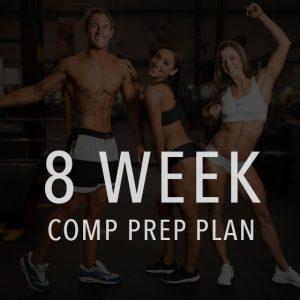 8 week comp prep and posing plan