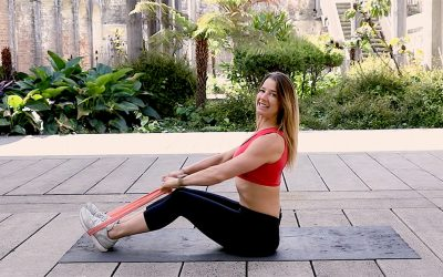 Full Body Home Workout with Resistance Bands